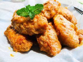 这是什么神仙美味,咸蛋黄鸡翅也太好吃了吧