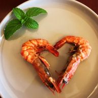 果香盐焗大虾
