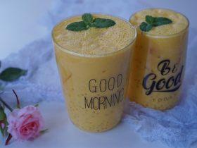 自制简单、味道超赞的下午茶甜点之芒果西米露