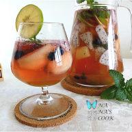 西班牙水果酒,大名鼎鼎的桑格利亚汽酒,简单几步就能做