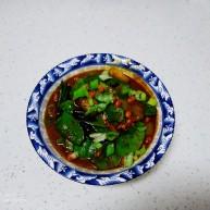 猪蹄汤炖丝瓜、扁豆