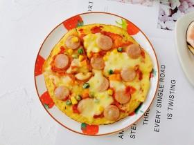 土豆丝五彩披萨
