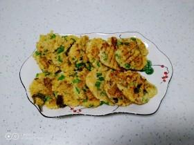 大米、鸡蛋、玉米面、叫叫豆饼