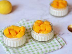 芒果意式奶冻 - 好吃快手没有之一