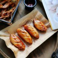 蜜汁烤鸡翅中