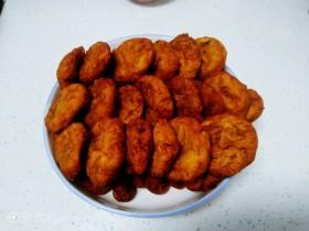 红糖芝麻花生柿子饼