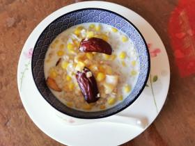 香滑红枣牛奶玉米麦片(快手版)