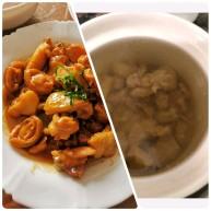 黄金小鲍鱼炆鸡(配靓汤套餐版)