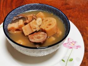 山水莲藕汤(益气养血,强健筋骨)