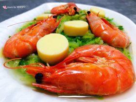 萝卜丝日本豆腐虾汤