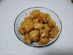 白菜、豆腐丸子