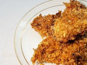 薯片烤翅~同样的食材,不一样的酥脆!