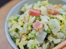 好身材一样吃出来,减脂无米蛋炒饭