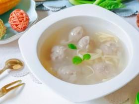 萝卜肉丸汤