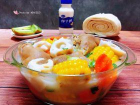 冬至美食+猪蹄莲藕汤