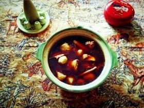#冬季暖心菜#    粱山鸡