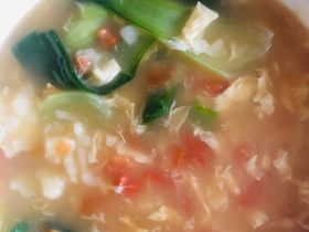 暖春番茄疙瘩汤