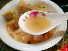 冬日暖心菜+萝卜肉丸汤