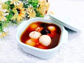 冬日暖心菜—酒酿丸子