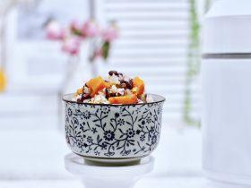 冬日暖心菜  红豆南瓜饭