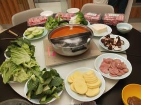 冬日暖心菜+在家吃火锅