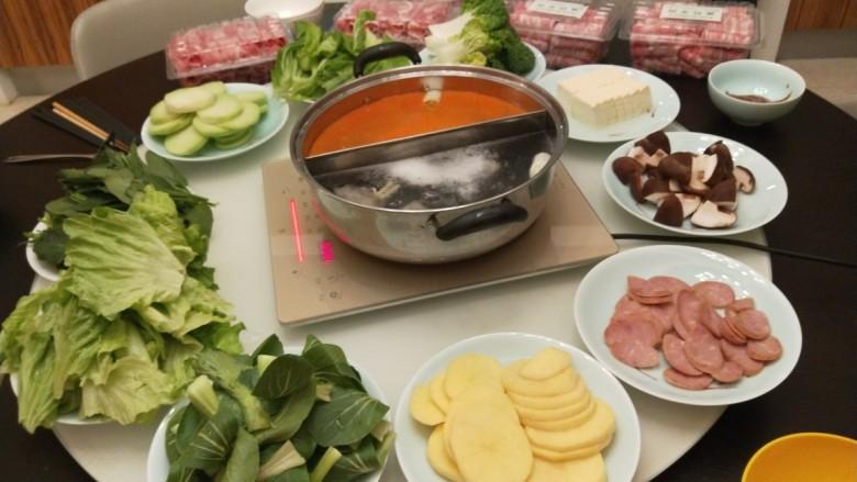 冬日暖心菜+在家吃做法-冬日暖心菜+在家吃火锅东西火锅针完嚼时间瘦脸多长打能图片