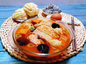 #冬日暖心菜#番茄金针菇汤