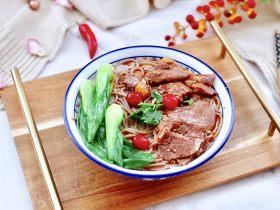 快手牛肉荞麦面~番尼鱼