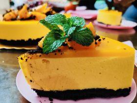 芒果慕斯蛋糕 8寸
