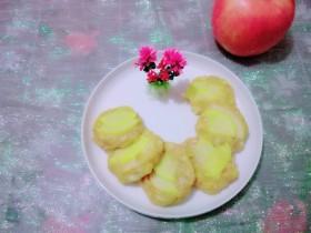 #情暖冬日#   苹果燕麦饼