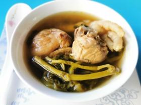 西洋菜凤爪排骨汤(清燥润肺)