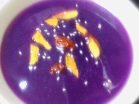 紫薯营养糊