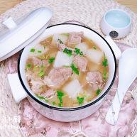 白萝卜羊肉汤