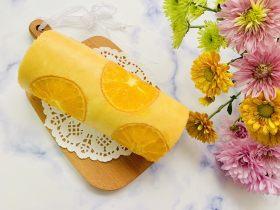 甜橙蛋糕卷