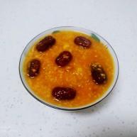 小米、南瓜、土豆、红枣、桂圆粥