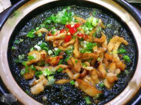 海蛎瘦肉紫菜煲