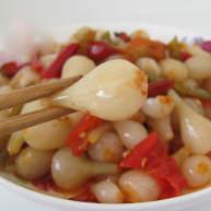 小咸菜:拌葱头