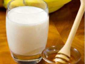 牛奶蜂蜜水