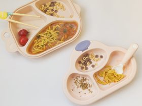 宝宝辅食:茄汁三文鱼胡萝卜面线 营养价值非常高哦