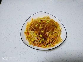 黄豆芽炖粉条