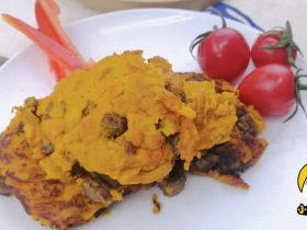 12个月宝贝生鲜牛肉南瓜饼,香甜软糯味道好,补铁补蛋白营养高!「小鹿优鲜」