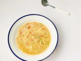 一周宝宝辅食:茄汁瘦肉疙瘩汤
