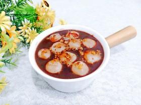 冬至美食 豆沙汤圆