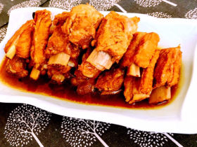 冬至美食    简单易做的家常红烧排骨