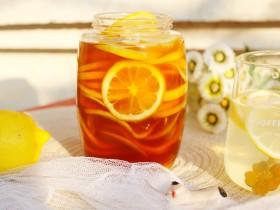 冬至美食 柠檬蜂蜜水