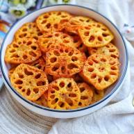 冬至美食 酥到掉渣的炸藕片