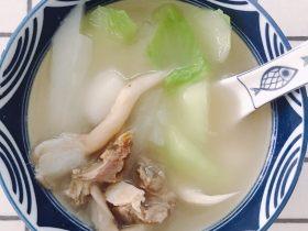 冬至美食--咸汤圆