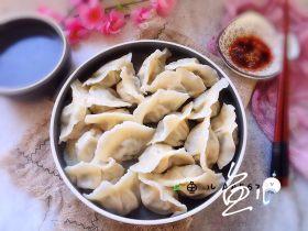 冬至美食 猪肉荠菜水饺