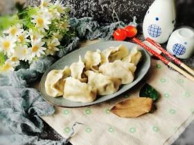冬至美食 三鲜水饺