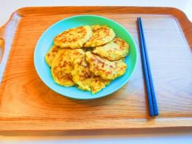 冬至美食+早餐苹果鸡蛋饼